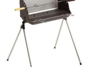 INVICTA - rôtissoire barbecue convertible nairobi 77x65x73cm - Barbecue Au Charbon
