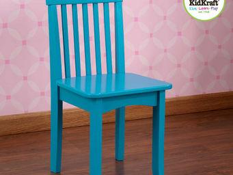 KidKraft - chaise turquoise en bois pour enfant 34x32x68cm - Chaise Enfant