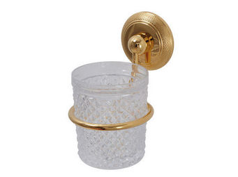 Cristal Et Bronze - cisel� - Porte Verre � Dent