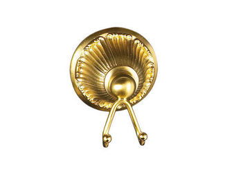 Cristal Et Bronze - versailles manettes - Patère De Salle De Bains