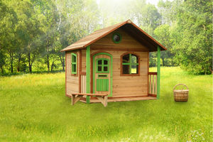 AXI - maisonnette milan en c�dre - Maison De Jardin Enfant