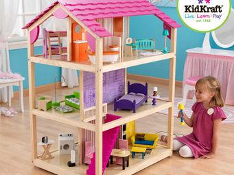 KidKraft - maison de poup�es so chic en bois avec roulettes 8 - Maison De Poup�e