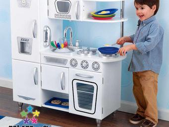 KidKraft - cuisine pour enfant vintage blanche en bois 83x29x - Jouets De Poup�e