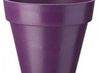 NetCadeau - cache pot bambou violet - Cache Pot