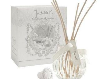 Mathilde M - diffuseur de parfum côtelé, parfum fêtes galantes - Diffuseur De Parfum Par Capillarité