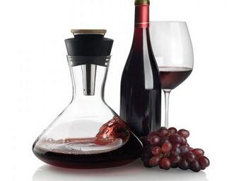 XD Design - carafe vin rouge a�rateur noir - Carafe � D�canter