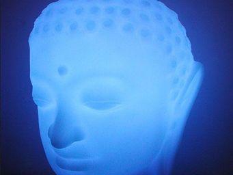 Zendart Design - lampe de table design slide buddha, led rgb - Lampe De Jardin � Led