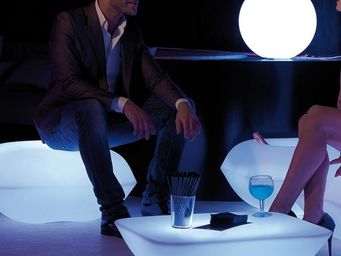 VONDOM - table basse vondom pillow, led rgb - Table Basse Lumineuse