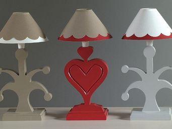 Luc Perron Creation -  - Lampe � Poser Enfant