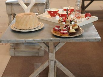 Luc Perron Creation -  - Table De Repas Carr�e