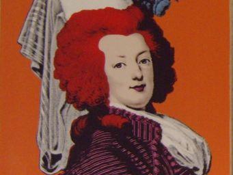 PROVENCE ET FILS - portrait daphne pop art mouvence - Portrait