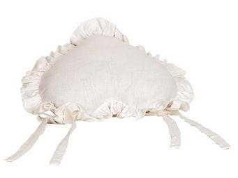 Interior's - coussin cur blanc - Coussin Forme Originale