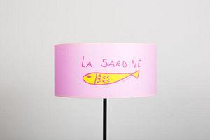 POULETTES BAZAR - sardine rose - Abat Jour