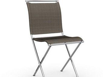 Calligaris - chaise pliante design air folding en tissu coloris - Chaise Pliante