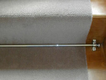 Moquettes A3C CARPETS - tapis d'escalier trianon uni 1200 - Tapis D'escalier