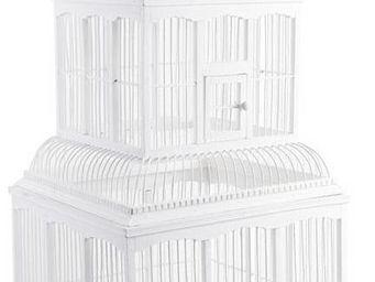Aubry-Gaspard - cage bambou d�co - Cage � Oiseaux