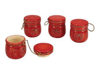 Interior's - mini pot rouge cur - Service À Thé