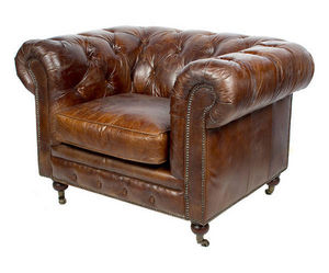 JP2B DECORATION -  - Fauteuil Chesterfield