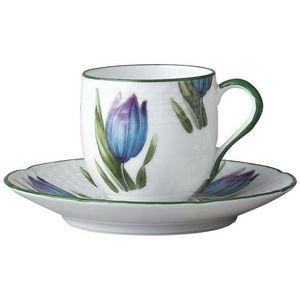 Raynaud - villandry fleurs - Tasse � Caf�