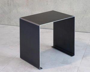 Mathi Design - bout de canape acier plie - Bout De Canapé