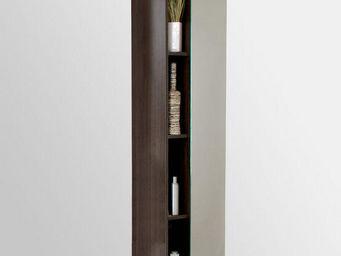 UsiRama.com -  - Colonne De Rangement Simple De Salle De Bains