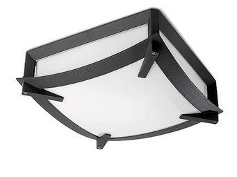Leds C4 - plafonnier carré extérieur mark 30 cm ip44 - Plafonnier D'extérieur