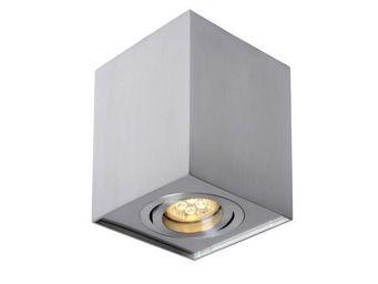 LUCIDE - spot apparent tube carré aluminium - Spot