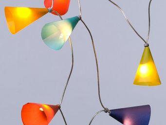 Pa Design - guirlande - multicolore 50 lumières 5m | guirlande - Guirlande Lumineuse