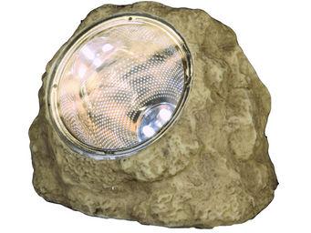 Best Season - solar stone - rocher solaire extérieur led h16cm | - Objet Lumineux
