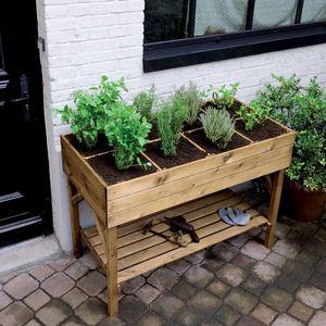 Burger - bac � plantes - Table De Rempotage