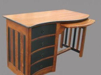 Lawrens - table basse ch�ne et verre - Tables Basses