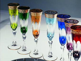 Cristallerie de Montbronn -  - Fl�te � Champagne