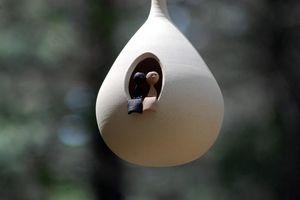 CAROLINE PAUL CÉRAMIQUE -  - Maison D'oiseau