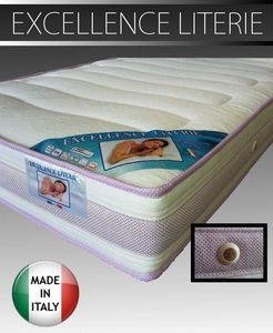 WHITE LABEL - matelas 120 * 190 cm excellence literie épaisseur  - Matelas En Mousse
