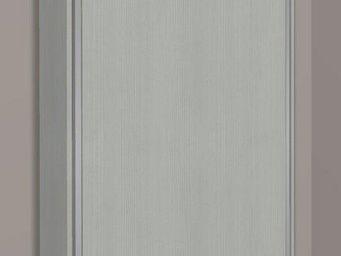 WHITE LABEL - armoire lit escamotable cronos, chêne gris . matel - Armoire Lit