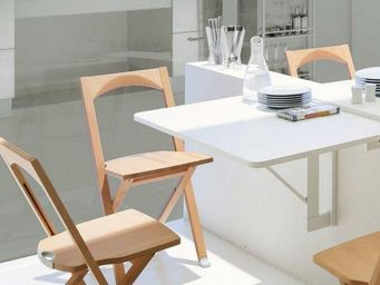 Calligaris - table pliante quadro de calligaris blanche - Table Pliante