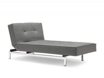 INNOVATION - meridienne design splitback lounger gris convertib - Banquette Clic Clac