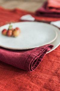 Couleur Chanvre -  - Serviette De Table