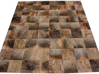 Tergus - tapis peau de blesbok naturel - Tapis De Cuir