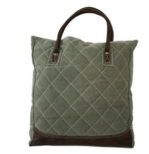 BYROOM - quilt green  - Sac À Main