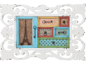 Kare Design - etagère murale frame barock horizontale - Etagère Murale Simple