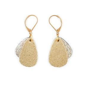 NI UNE NI DEUX - méduse gold - Boucles D'oreilles