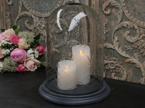 CHIC ANTIQUE - d�coration - Cloche En Verre D�corative