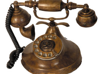 Antic Line Creations - téléphone vintage décoratif - Téléphone Décoratif