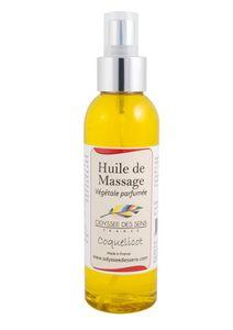 ODYSSEE DES SENS - vegetale parfumée - Huile De Massage