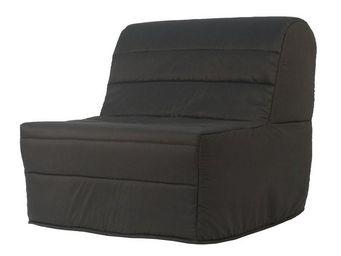 WHITE LABEL - fauteuil-lit bz matelas hr 90 cm - elia n°1 - l 91 - Banquette Bz