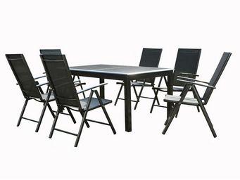 TOUSMESMEUBLES - ensemble table et chaises de jardin - sonkran n�3 - Salle � Manger De Jardin