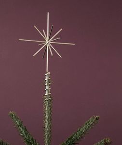 Ferm Living - brass christmas tree - Etoile De Noël