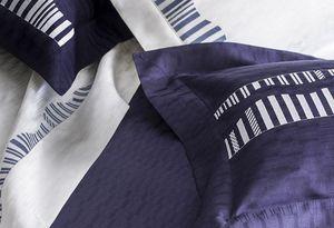 D. Porthault - néréides bleu nuit  - Taie D'oreiller