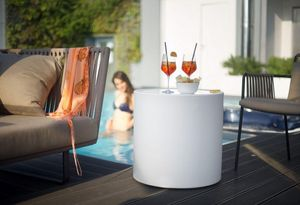 Lyxo by Veca - tavolino cilindro - Table D'appoint De Jardin